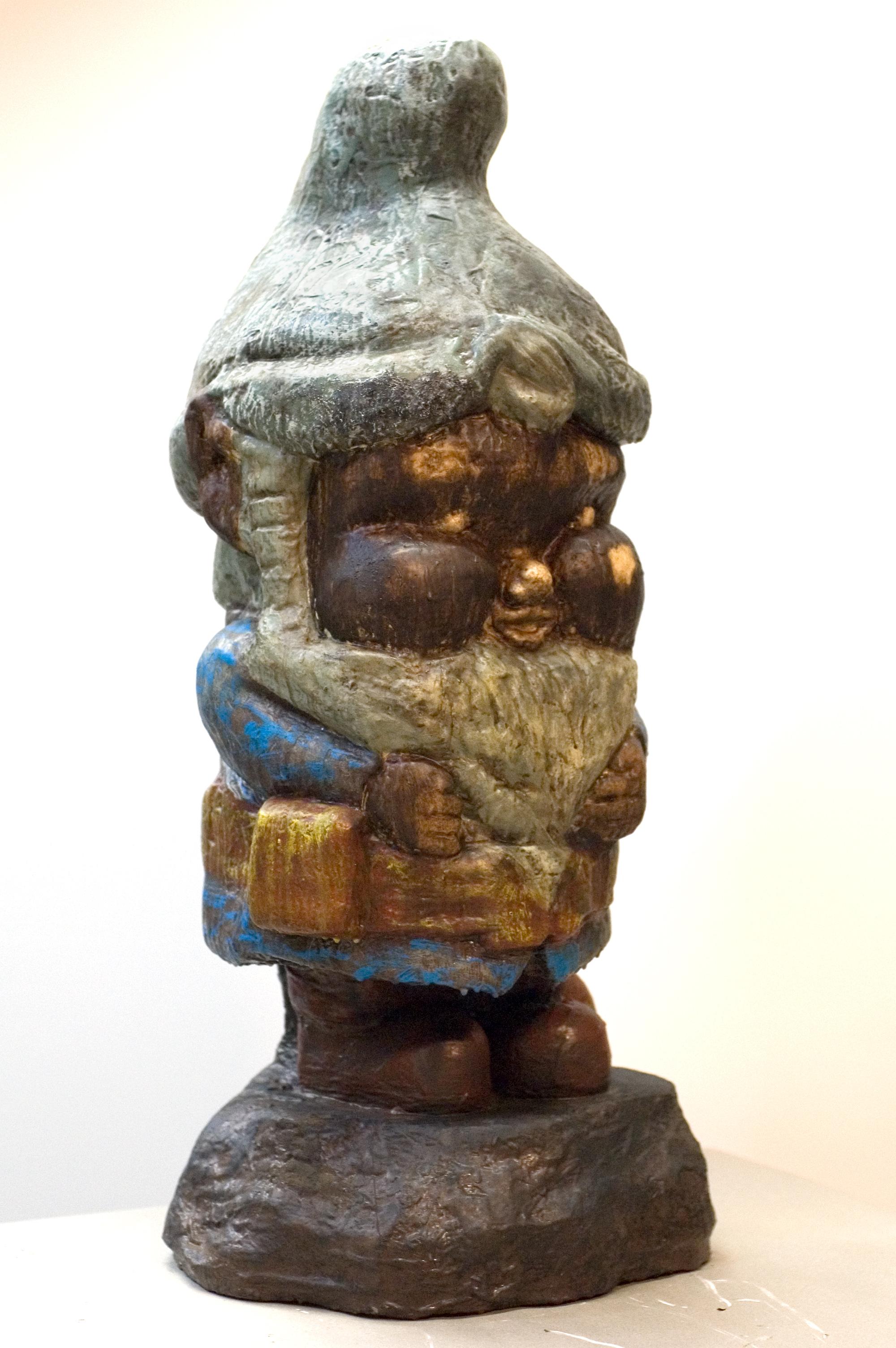 Three-foot tall garden gnome